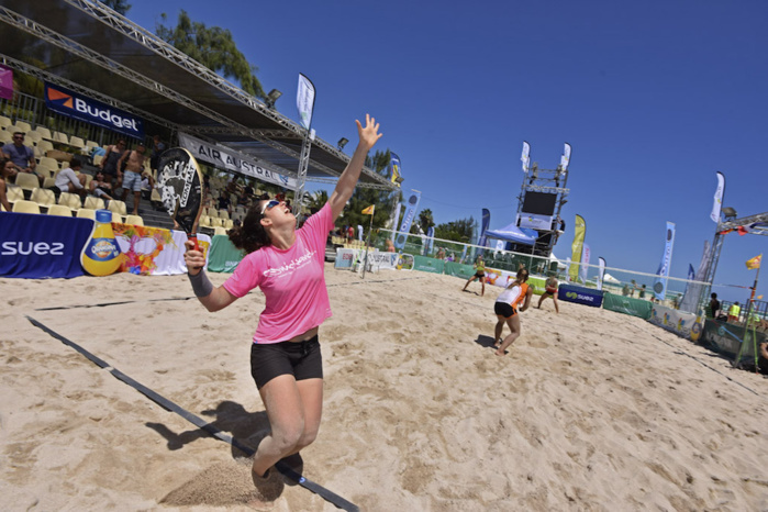 Beach tennis: Retour en images sur l'Open international des Brisants