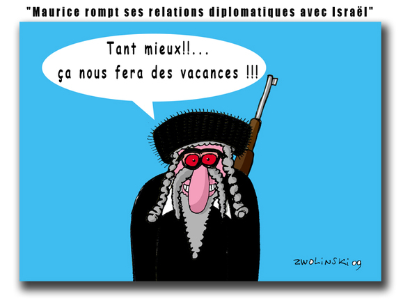 Maurice rompt ses relations diplomatiques avec Israël