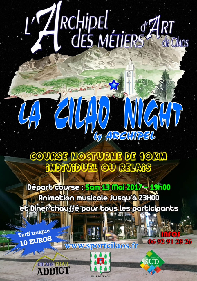 "La ""Cilaos night"" by Archipel"