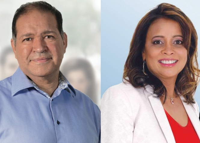 4e circonscription: David Lorion vs Virginie Gobalou