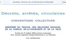 Le Journal Officiel publie l'extension de l'accord COSPAR