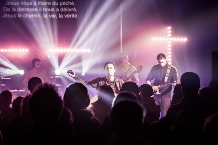 "Hopen, de la ""pop-louanges"" en concert"