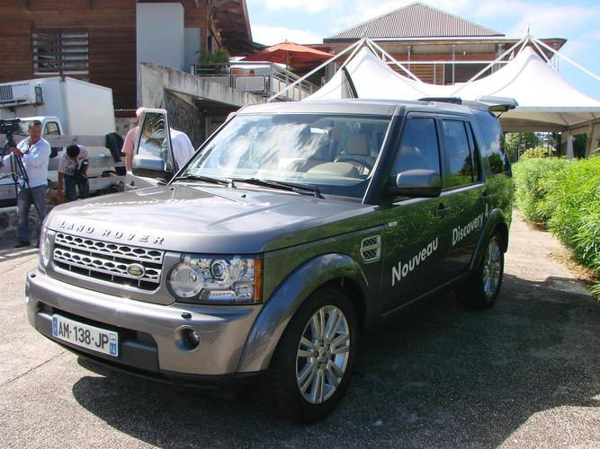 Nouveau Land Rover Discovery IV