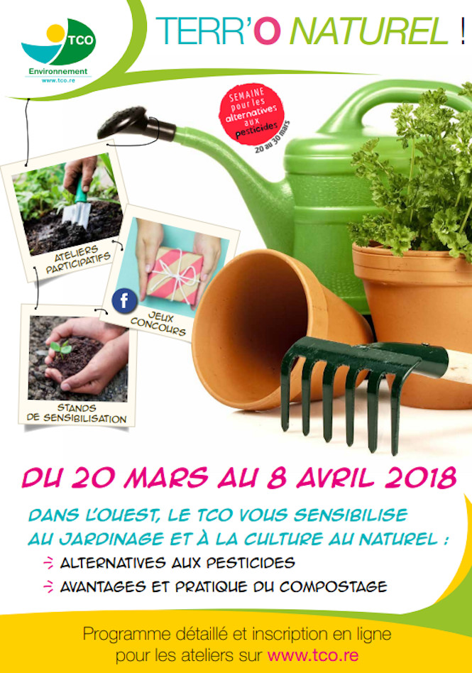 "Participez aux actions ""Terr'O Naturel !"" du TCO du 20 mars au 8 avril !"