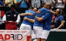 Tennis :Coupe Davis, la France en demi-finale