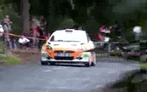 Olivier Payet en tête du Rally National de Bourbon