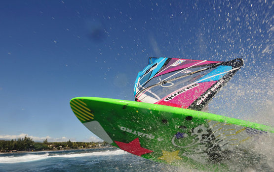 "La compétition ""Reunion wave classic"": Du windsurf ""no limit"""