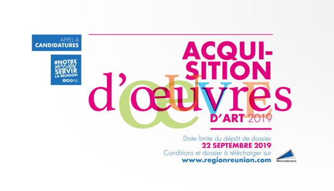 Appel à candidature : Acquisition d'oeuvres d'art 2019