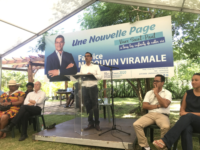 St-Paul : Fabrice Marouvin officialise sa candidature