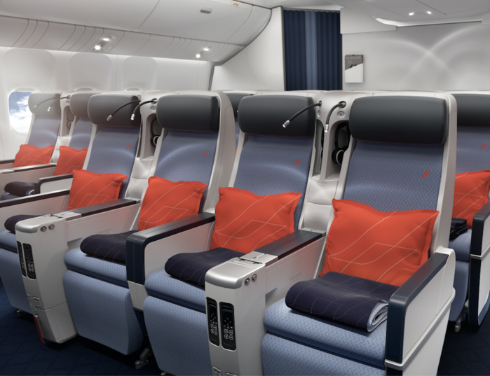 Cabine Premieum Eco Crédit Photo Air France