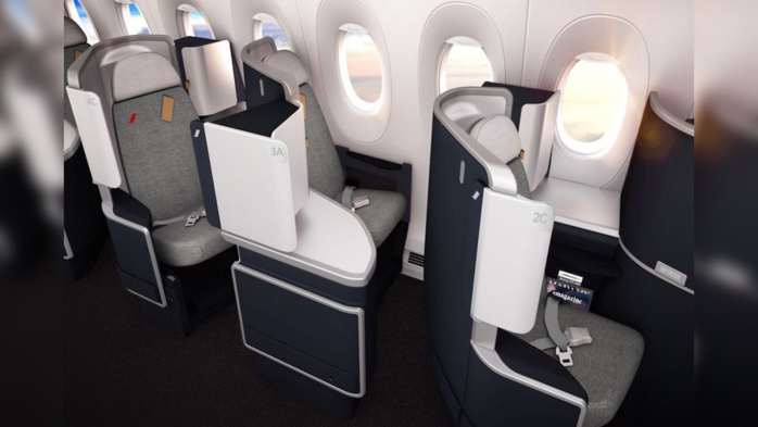 Cabine Business Crédit Photo Air France