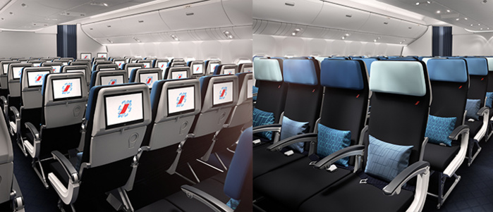 Cabine eco Crédit Photo Air France