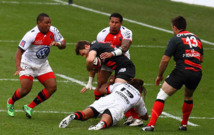 Le Stade Toulousain et Toulon disputeront la finale du Top14 le week-end prochain.