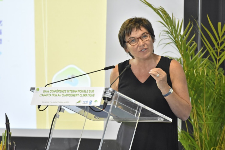Annick Girardin, ministre des Outre-mer (Photo d'archives : Pierre Marchal - Anakaopress)