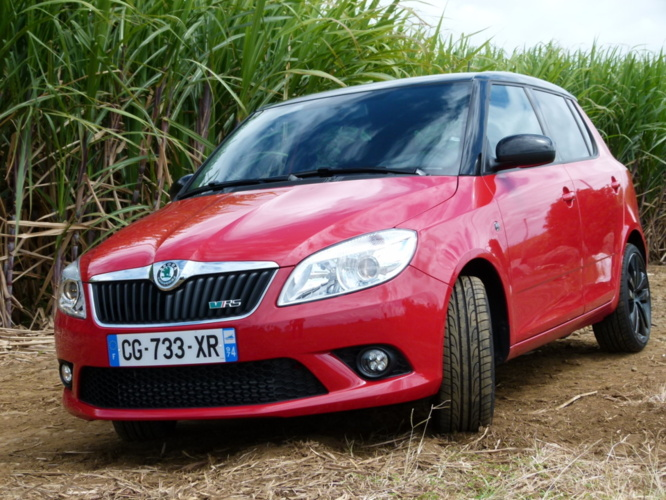 Skoda Fabia RS, lyrique