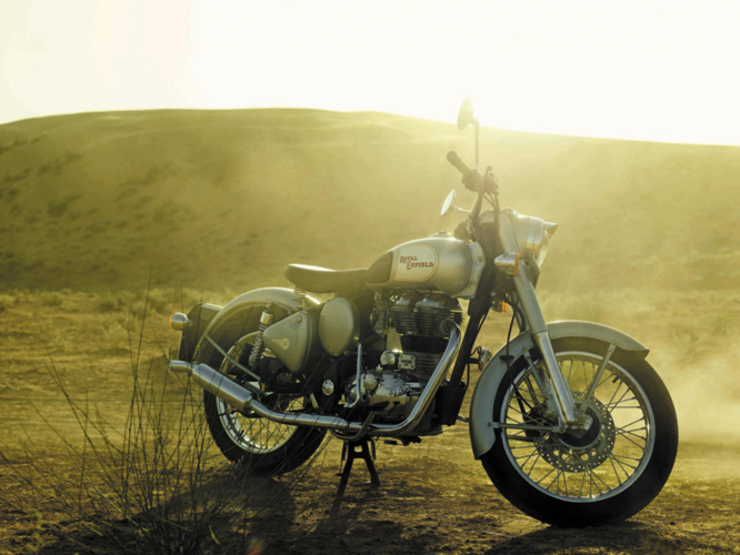 Royal Enfield, concessionnaire officiel