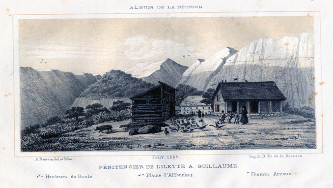 Lithographie d'Antoine Roussin