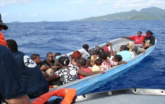 Mayotte : Plus de 200 clandestins interceptés ce week-end au large de l'île
