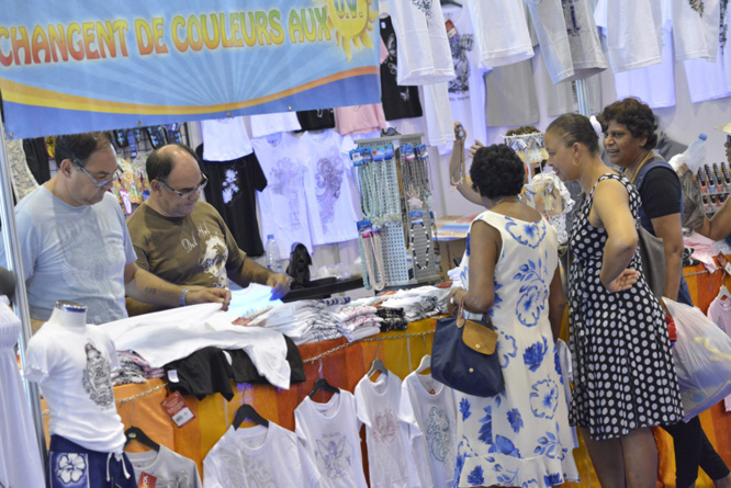 """L'Inde authentique""... La 3è foire internationale de la Réunion en images"