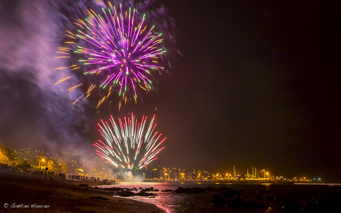 Saint-Pierre : Le feu d'artifice en images