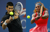 US Open : Djokovic et Williams impressionnent