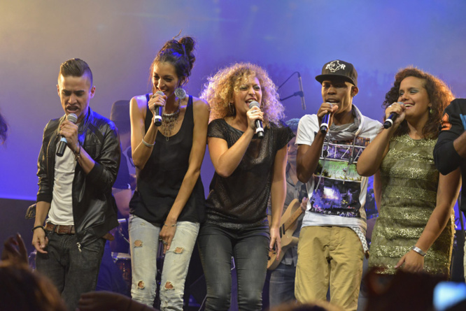 St-Denis : Le concert de Run Star au Palaxa en images