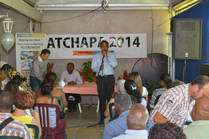 Jeannick Achapa officialise sa candidature