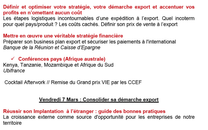 Le salon de l'export remet le couvert !