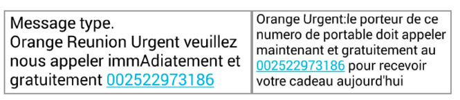 SMS frauduleux : Orange informe ses clients