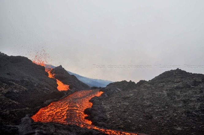 Des images du Piton de la Fournaise en éruption... On ne s'en lasse pas
