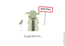 La ville de Saint-Paul rend hommage à Star Wars pour le StarWarsDay
