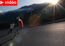 VIDEO: Des riders californiens sur l'asphalte réunionnais
