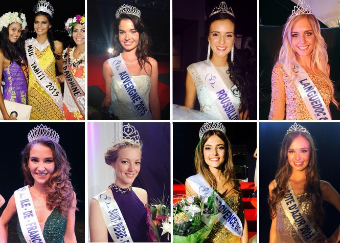 Source photos: Twitter Miss France
