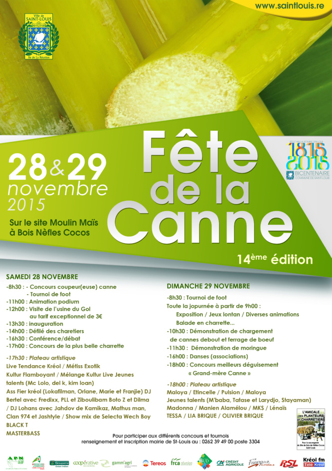 Saint-Louis fête la canne!