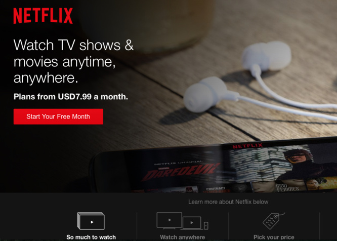 Streaming: Netflix disponible à La Réunion