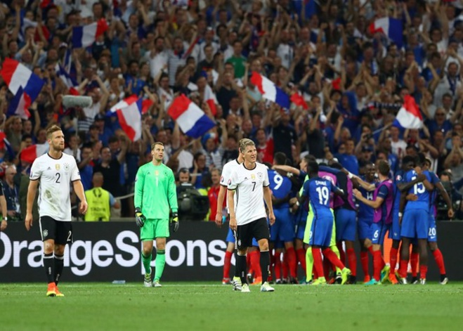 La France bat l'Allemagne : Destination finale !