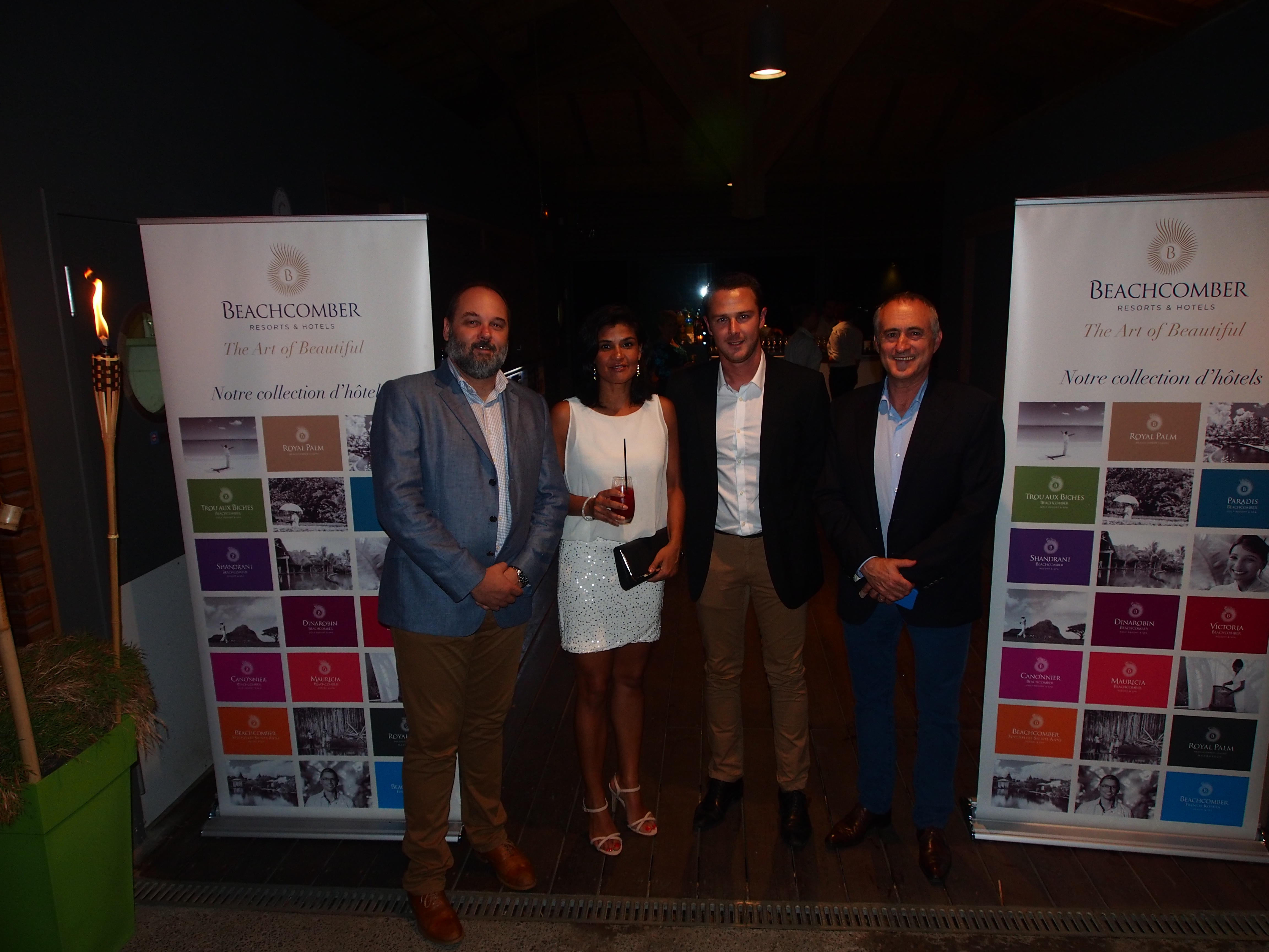 Nicolas Staub (group head of sales) Arianne Devienne-Bellepeau (leisure; events manager) Olivier Rougier Lagane (sales manager) François Venin (chief sales & marketing officer)