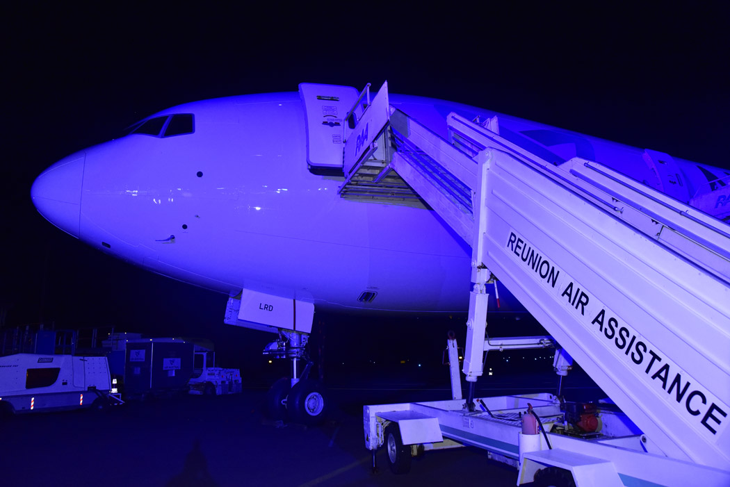 Air Austral accueille son Boeing 777 flambant neuf