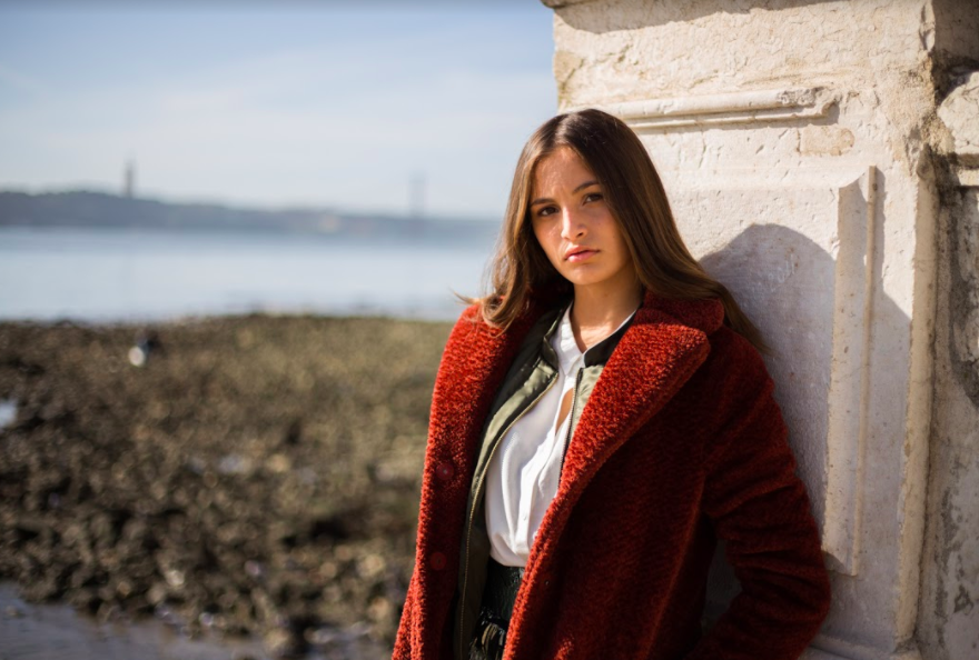 Kiara: sublime sur les shootings Elite de Lisbonne