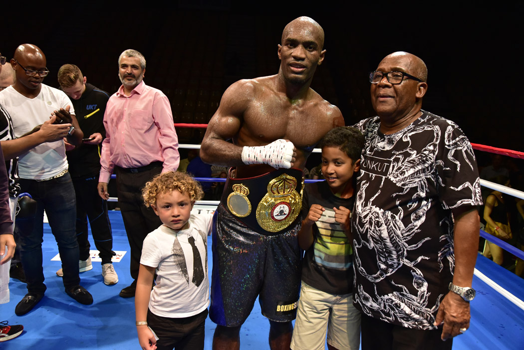 Retour en images sur le Gala international de boxe