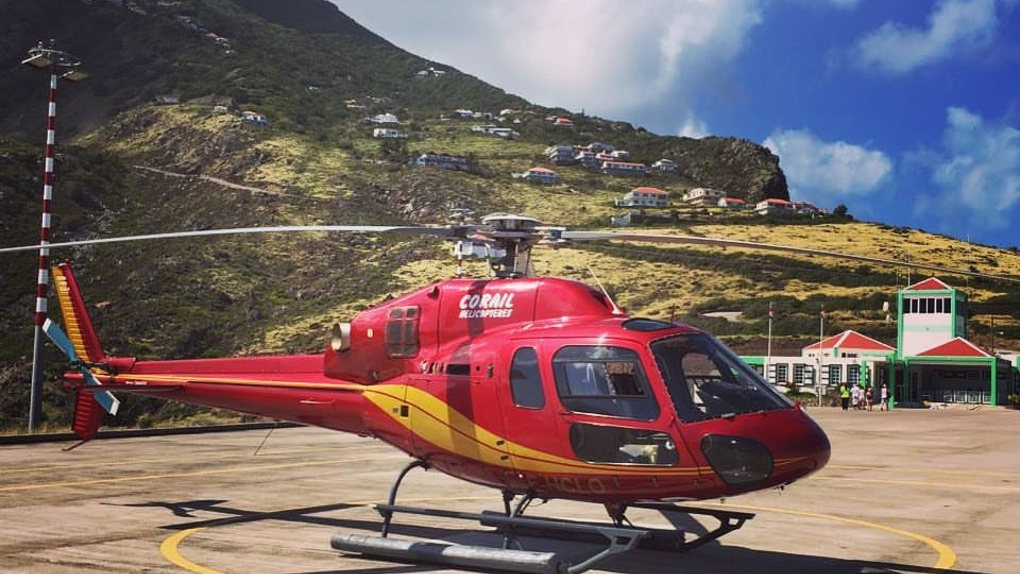 Photo Facebook Corail Helicopteres SXM