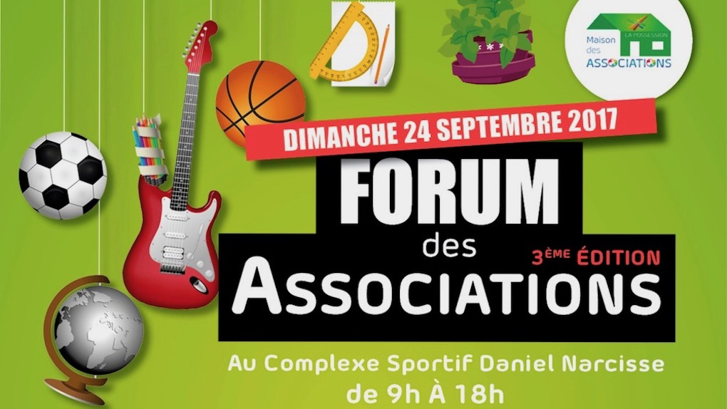 Le forum des associations se tient à la Possession
