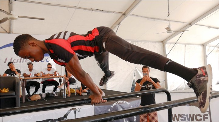 Angelo Merion sacré King of Street Workout