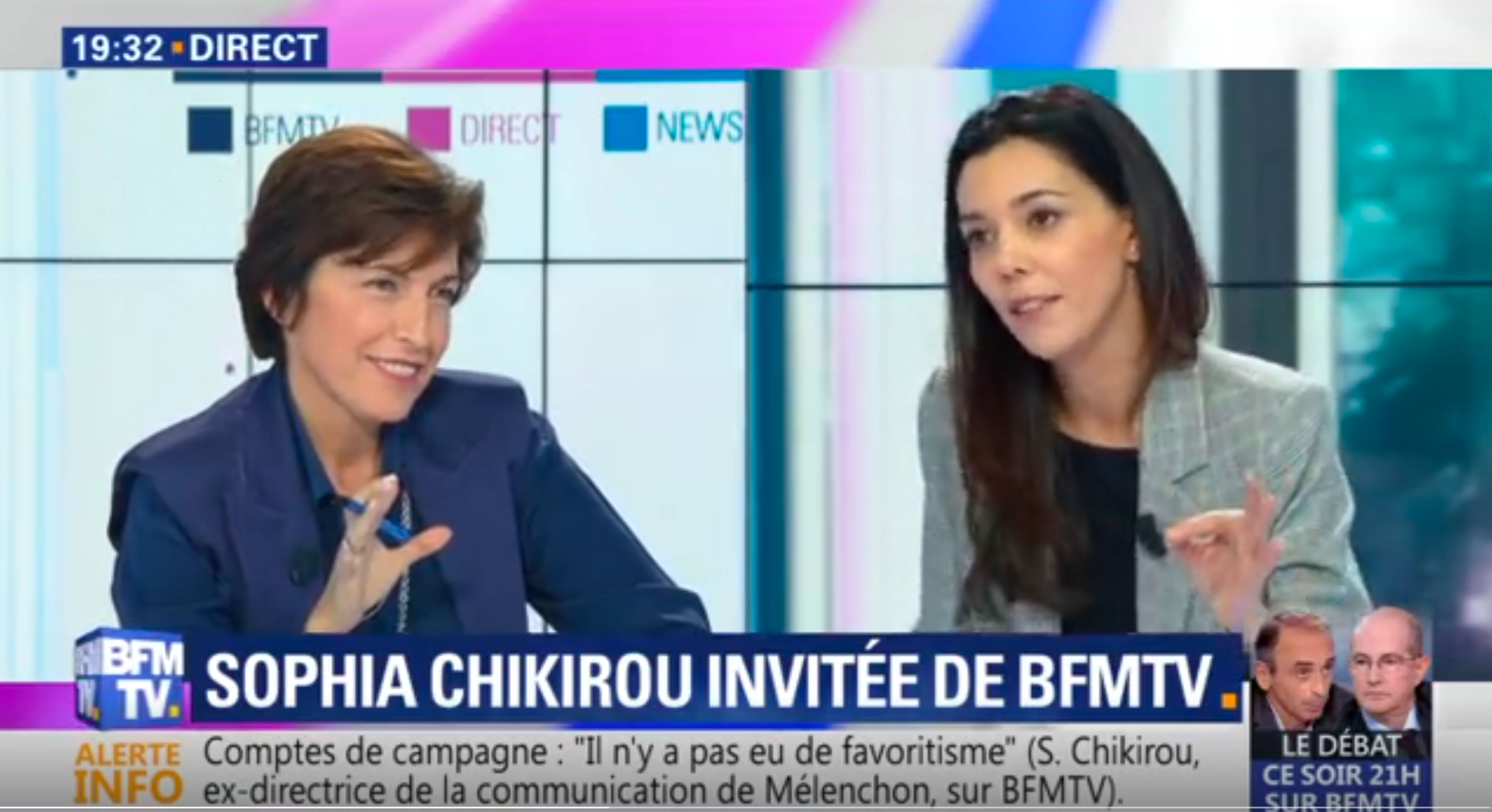 Sophia Chikirou se défend, France Info maintient ses accusations