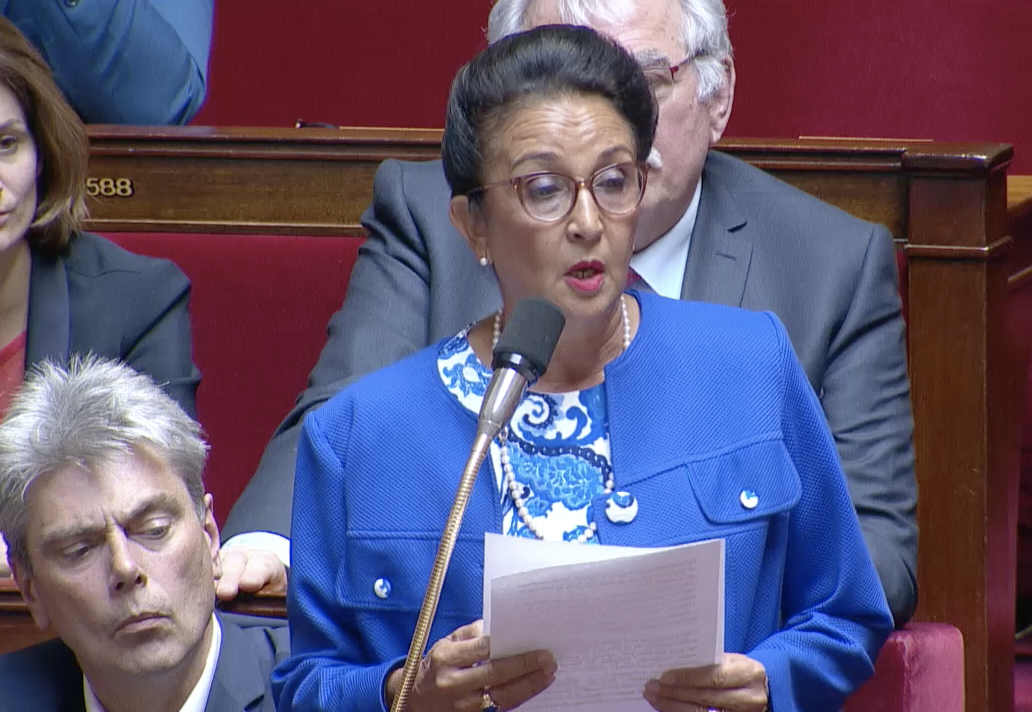 Infanticide au Port: Huguette Bello intervient à l'Assemblée nationale
