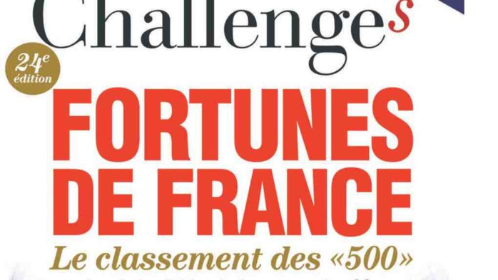 La couverture du magazine Challenges