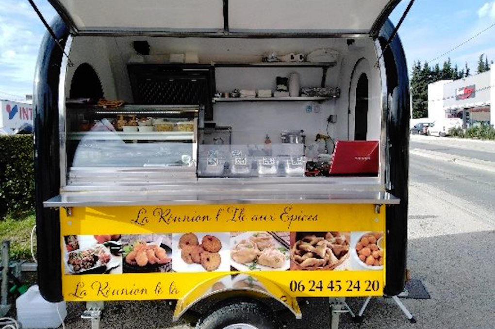 Photo : Facebook 974 Le Margouillat Food Truck