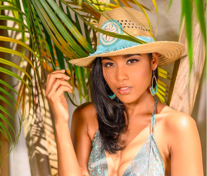 Capture Instagram Miss Guadeloupe, Clémence Botino