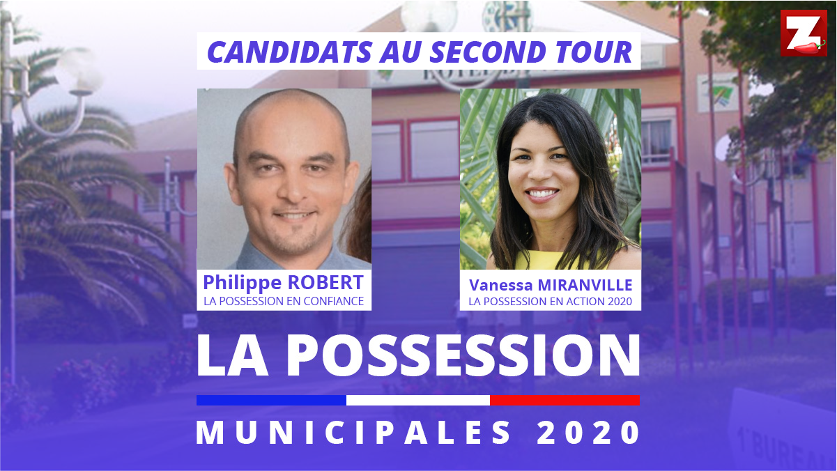 La Possession: Vanessa Miranville et Philippe Robert au second tour