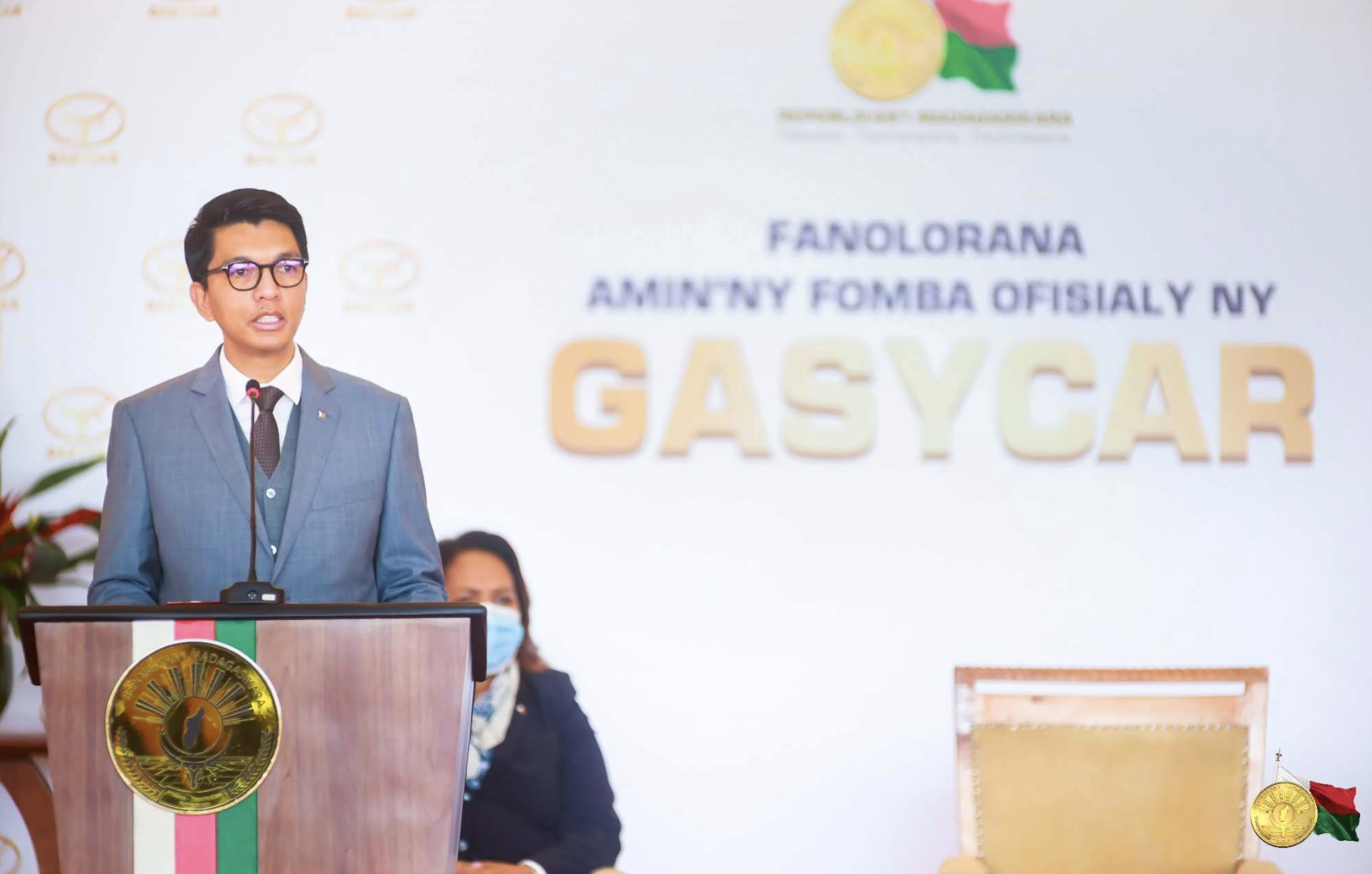 ​Andry Rajoelina annonce la production de véhicules made in Madagascar